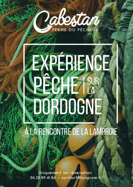 Flyer experience peche lamproie recto
